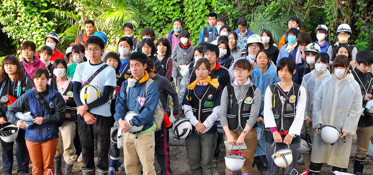 IVUSAの学生たち
