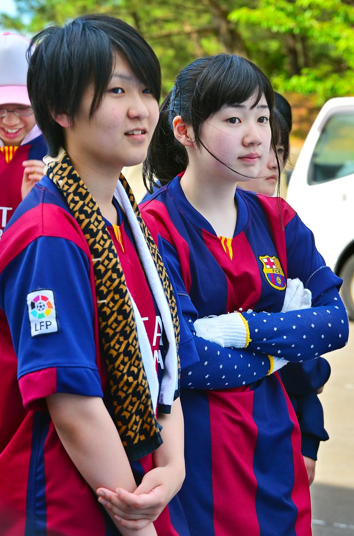 可愛い女子生徒たち