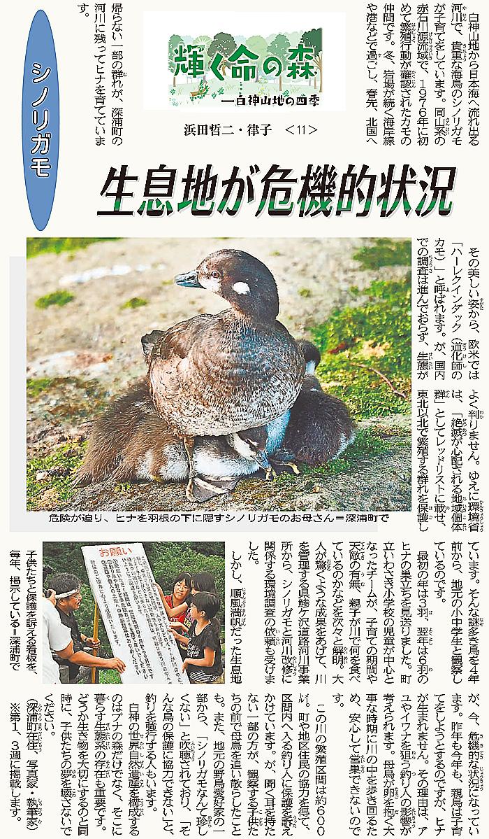 東奥日報「Juni Juni」の連載10回目