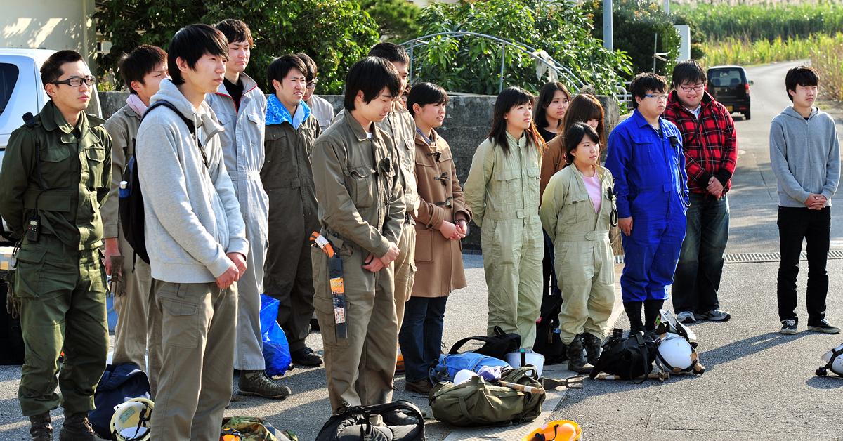 JYMAの学生たち